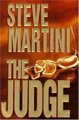 "0025 ""The Judge"" Book by Steve Martini"