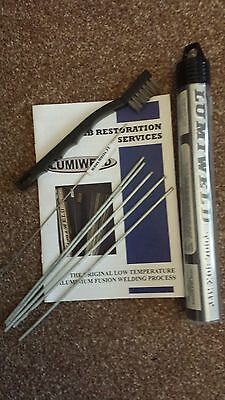 Lumiweld 5 Rod Kit - Low Temp Aluminuim Repair