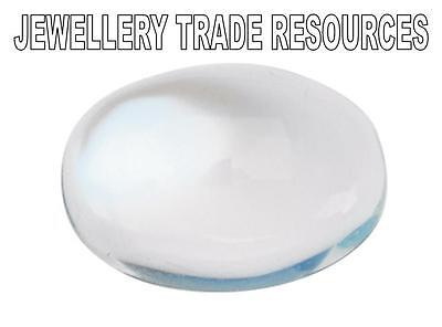 Natural Moonstone 6mm x 4mm Oval Cabochon Gem Gemstone