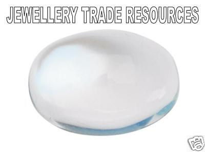 Natural Moonstone 7mm x 5mm Oval Cabochon Gem Gemstone