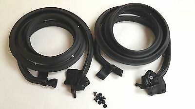 1965 1966 Chevy Impala Door Weatherstrip Pair Rubber Seal Pair 2DRHT Convertible