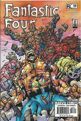 FANTASTIC FOUR #58 (MARVEL) (3rd SERIES)