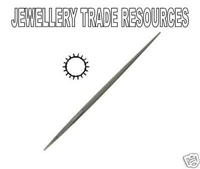 Jewellers Swiss Made 150mm Round File Cut 4