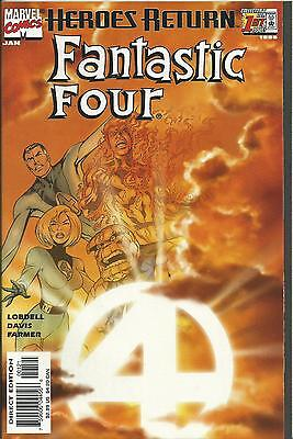 FANTASTIC FOUR #1 (SUNBURST VARIANT MARVEL 3rd SERIES)