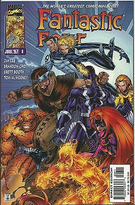 FANTASTIC FOUR #8 (MARVEL) (2nd SERIES)