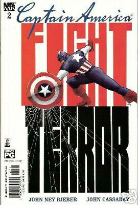 Captain America #2 (4Th Series) (Marvel Knights)  2002