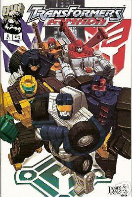 Transformers: Armada #5  (Dreamwave)