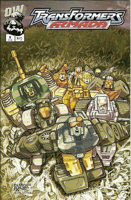 Transformers: Armada #8  (Dreamwave)