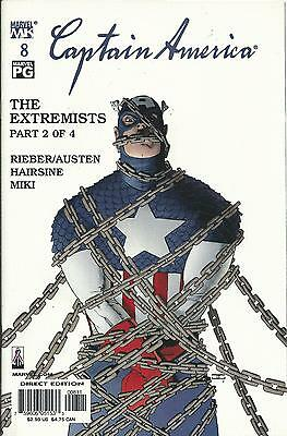 Captain America #8 (4Th Series) (Marvel Knights)  2002