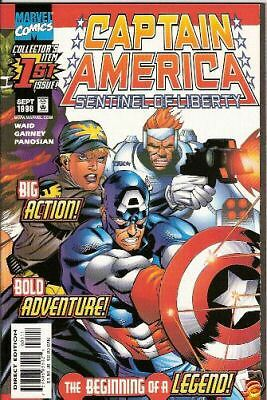 Captain America: Sentinel Of Liberty #1 (Marvel)  1998