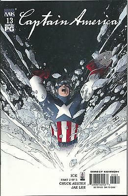 Captain America #13 (4Th Series) (Marvel Knights)  2002