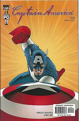 Captain America #14 (4Th Series) (Marvel Knights)  2002