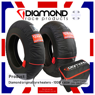 Diamond Race Products - Original Type Tyre Warmers 120/17 195-205/17