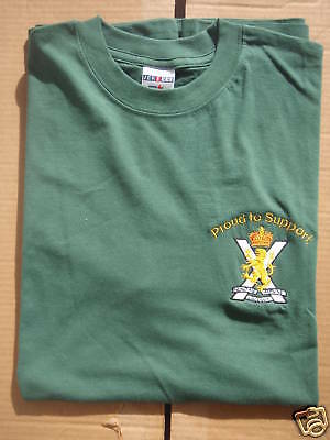 Proud To Support Royal Regiment Of Scotland    T-Shirt