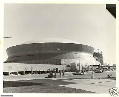 1975 New Orleans LOUISIANA SUPERDOME, real photo
