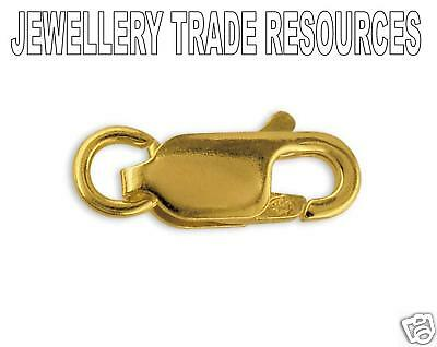 18ct Yellow Gold Lobster Trigger Jewellery Clasp 8mm