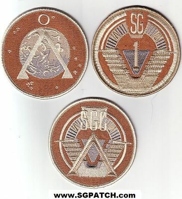 Stargate Sg-1 Patch Set / Desert  Set