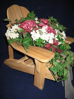 Lot of 10 Adirondack Chair Centerpieces