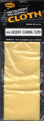 HERCO Instrument Polishing Lacquer Cleaning Cloth Maintenance Brass *New* HE90