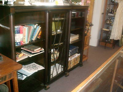 Mahogany Lawyer's Bookcase w/glass doors IEC mid-1800's