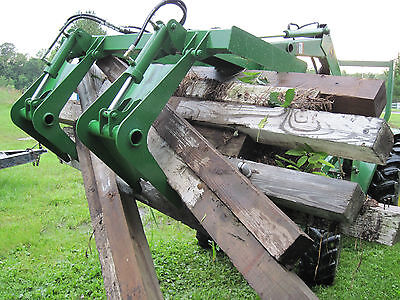 John Deere Tractor Root Brush Grapple Quicktach Bobcat