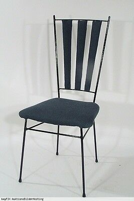 IRON CHAIR NOXON STYLE 50s 60s CHAISE STUHL 6avail.
