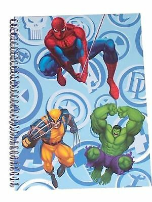Cahier à spirales A4 Marvel Heroes Neuf