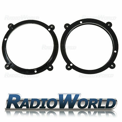 "Speaker Adaptor Kit for AUDI A3 (1996-2003) Front Door 130mm 5.25"" Rings/Spacers"