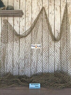 Old Vintage Fishing Net ~10'x10' ~Authentic Netting ~ Crab, Lobster Trap, Pond
