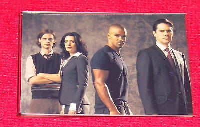 Criminal Minds MAGNET Matthew Gray Gubler & The Cast #2