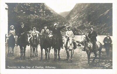 Killarney. Tourists in the Gap of Dunloe by Anthony, K~