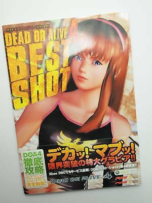 Xbox 360 Dead or Alive 4 DOA Best Shot Guide Game Book