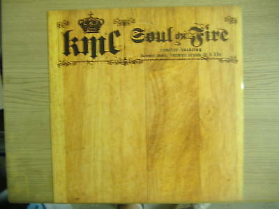 "KMC     Soul On Fire    12"" Vinyl P/S PROMO Single"