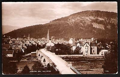 Ballater. Waning Day in Davidson's Real Photo Series.