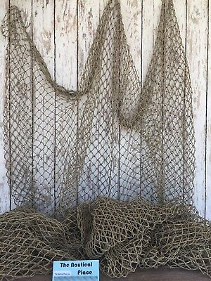 Used Commercial Fishing Net ~ Vintage Fish Netting ~ Old Recycled Reclaimed