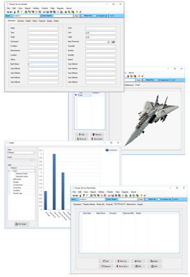 F16 F18 BlackHawk Fighter Jet Airplane Helicopter Metal Model Tracking Software
