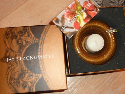 New Jay Strongwater Candle with Bee. Great GIFT NIB