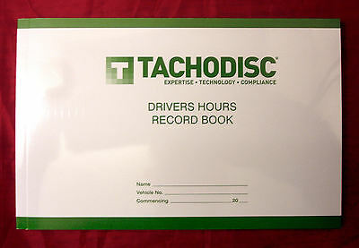 Tachodisc Driver's Hours Record Pad DHR