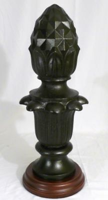 *LARGE Cast Iron American Pineapple Display Finial 1905