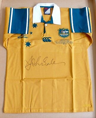 John Eales  Wallabies  Signed Jersey