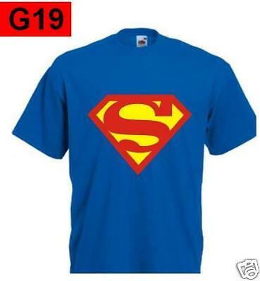 T-shirt SUPERMAN cartoon film cult vintage