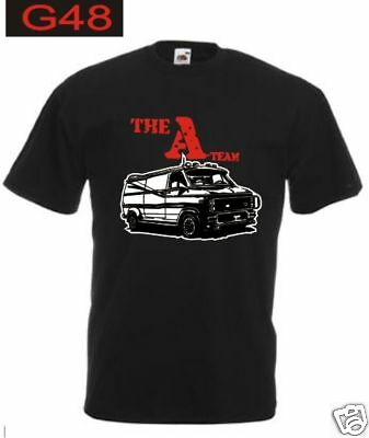T-shirt A-TEAM serie tv telefilm cult