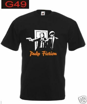 T-shirt PULP FICTION film cult tarantino travolta