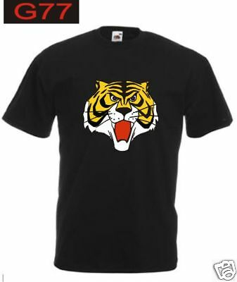 T-shirt TIGER MAN UOMO TIGRE cartoon cult vintage