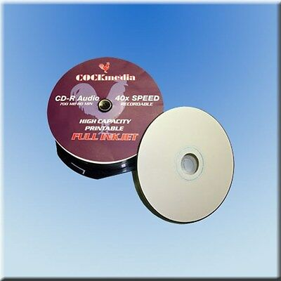CD-R * Digital Audio Musik  FULL PRINTABLE -
