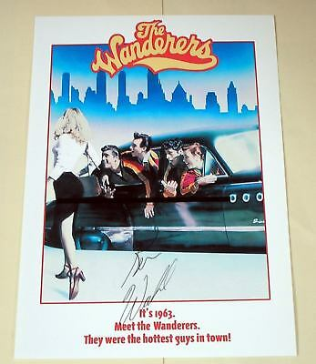 """The Wanderers Pp Signed 12""""x8"""" Poster Ken Wahl"""