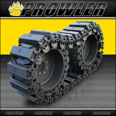 """10"""" Prowler Fusion Rubber OTT Tracks for Skid Steers - Fits 10x16.5 Tires"""