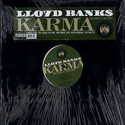 "Lloyd Banks /BANNK$/G-Unit.  Karma Remix   12"" Vinyl LP"