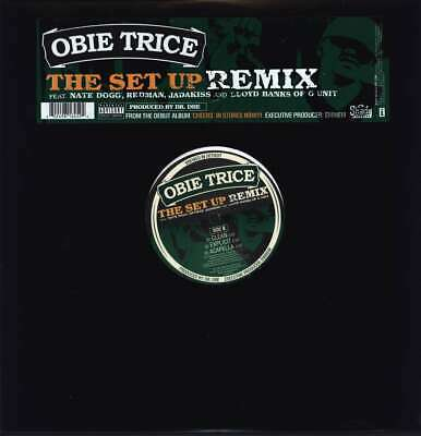 "Obie Trice-""The Set Up"", Includes Remix ft Banks LP 12"""