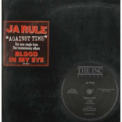 "Ja Rule - ""Against Time"" & ""NI**AS & B**CHES"" -  12"" LP"